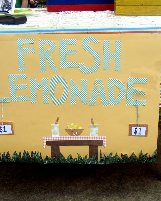 5-Year-Old Girl Fined Almost $200 For Lemonade Stand Promo Image