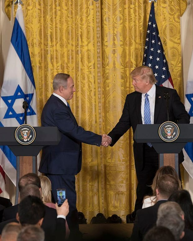 Trump: Israeli PM Is 'Bigger Problem' For Peace Deal Promo Image
