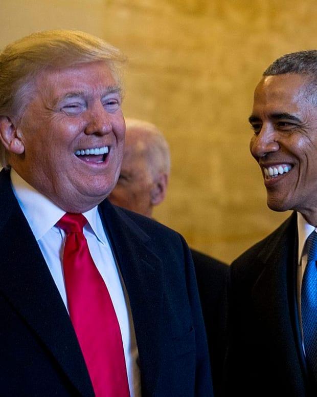Obama Seemingly Makes Dig At Trump's Twitter Use Promo Image