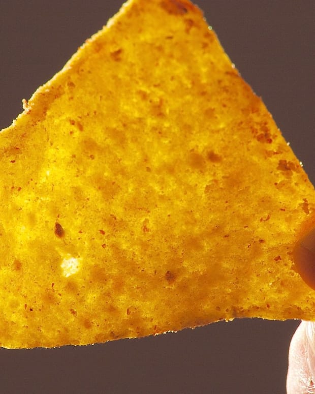 News Anchor's 'One Chip Challenge' Goes Wrong (Video) Promo Image
