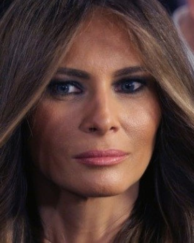 Start Your Goodbyes For First Lady Melania Trump Promo Image