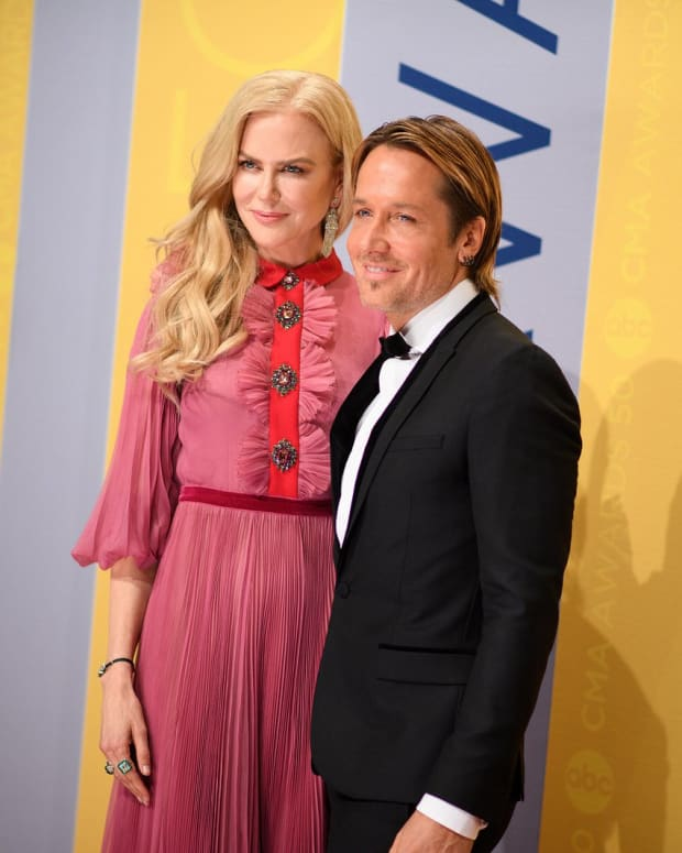 Nicole Kidman Kisses Co-Star In Front Of Her Husband (Video) Promo Image