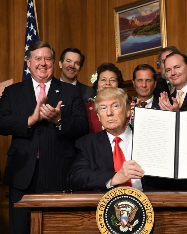 Trump Signs Executive Order On Health Care Promo Image