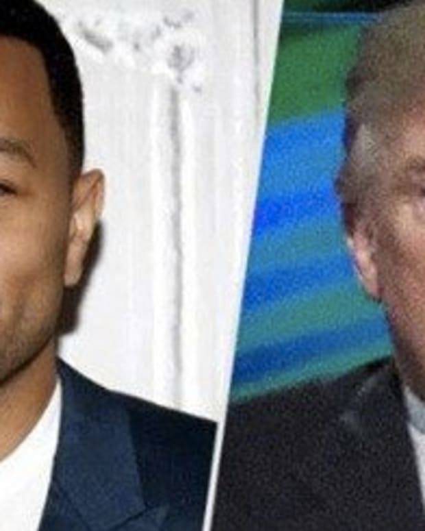 John Legend Says Trump Is The 'Worst Person Ever', Then Talks About Obama Promo Image