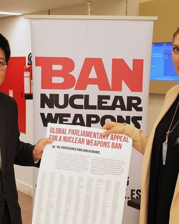 122 Nations Approve UN Nuclear Weapons Ban, US Opposed Promo Image