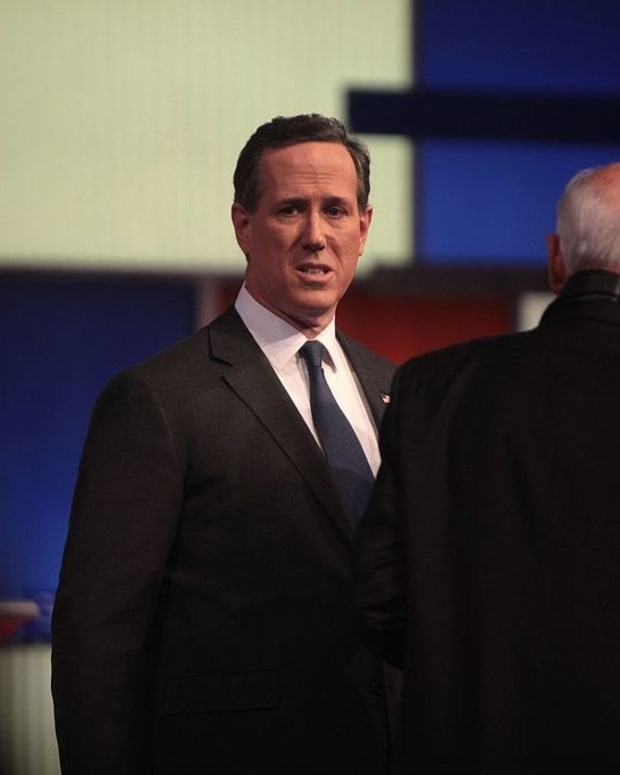 Santorum Concerned Over Trump Presidency Promo Image