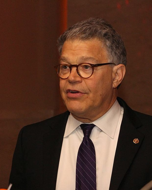 Democratic Senators Call On Franken To Resign Promo Image