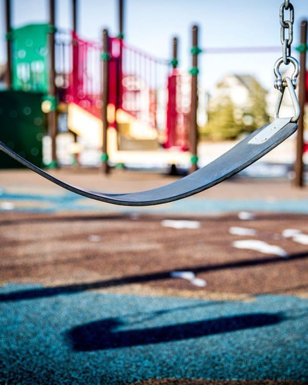 Child Dies After Getting Stuck In Swing Straps Promo Image