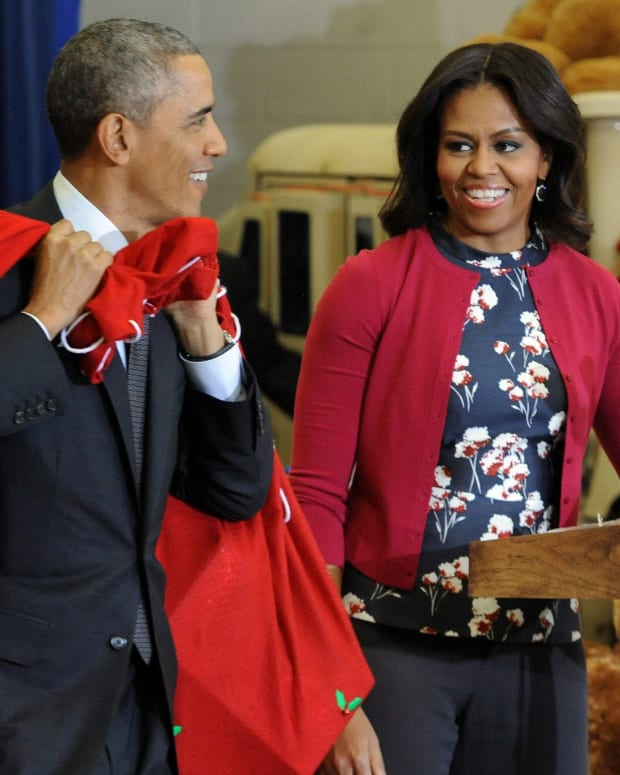 The Obamas Celebrate 25 Years Of Marriage (Photos) Promo Image