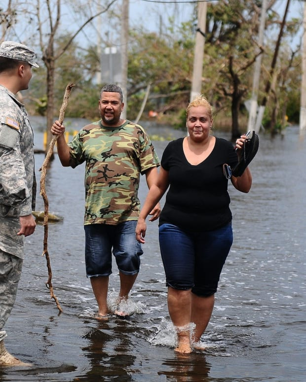 Puerto Ricans Forced To Pay For Their Own Evacuations Promo Image