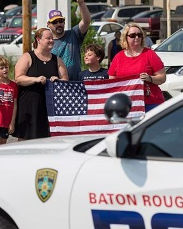 Disabled Baton Rouge Officer Sues Black Lives Matter (Photos) Promo Image