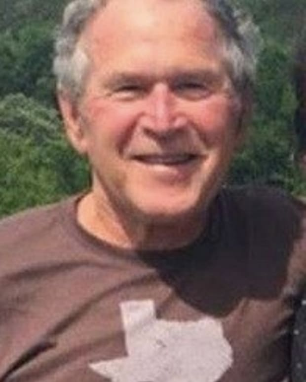 George W. Bush Spotted With Last Person Anyone Would Ever Expect (Photo) Promo Image
