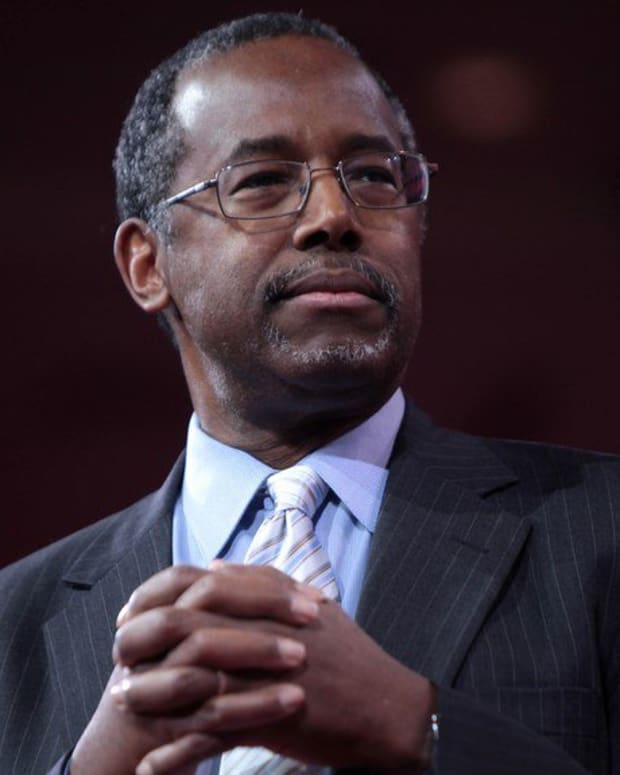 Ben Carson Slammed For Calling Poverty 'A State Of Mind' Promo Image