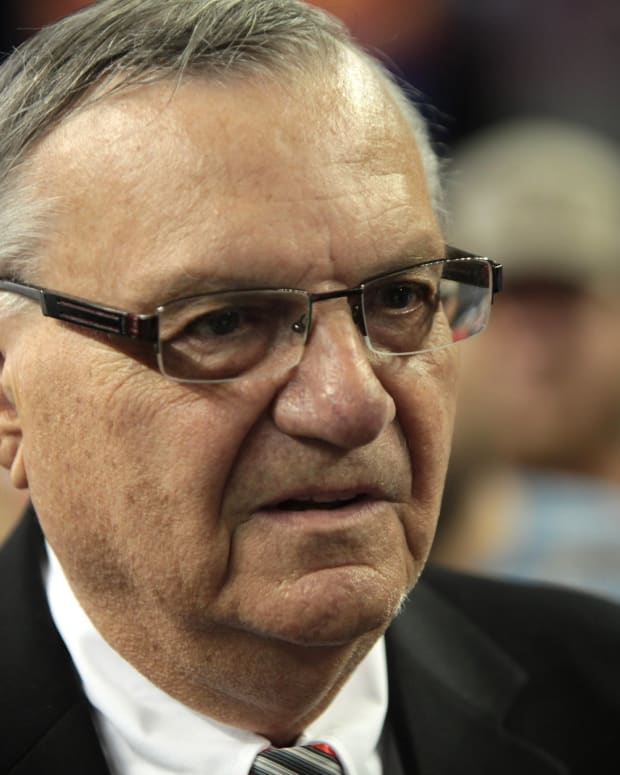 Arpaio: I Will 'Never' Apologize To Latinos Promo Image