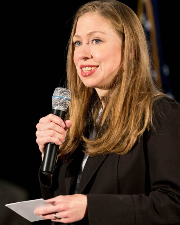 Chelsea Clinton Slams Fake Story About Malia Obama Promo Image