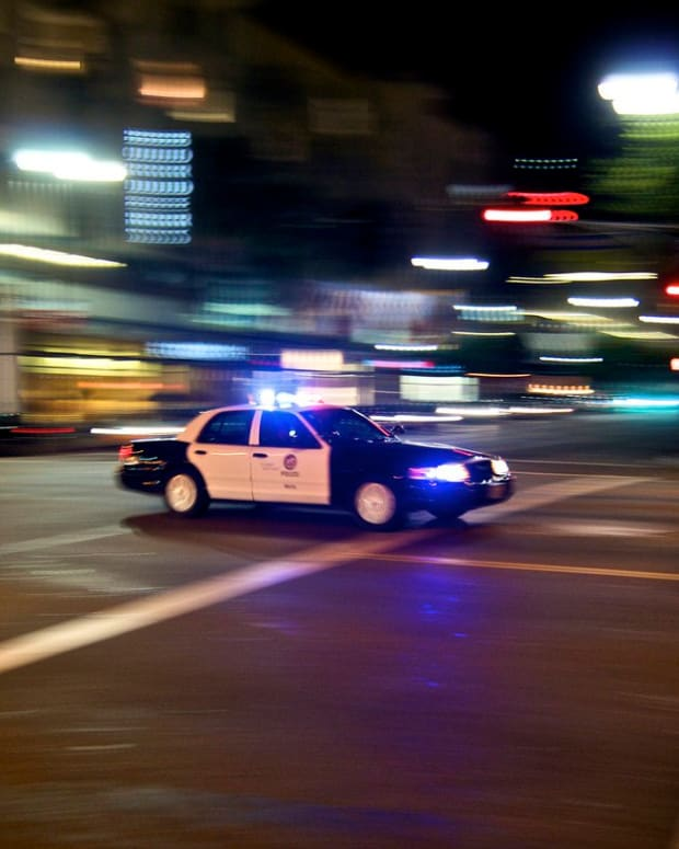 LAPD Officer Involved In Possible DUI Crash (Photos) Promo Image
