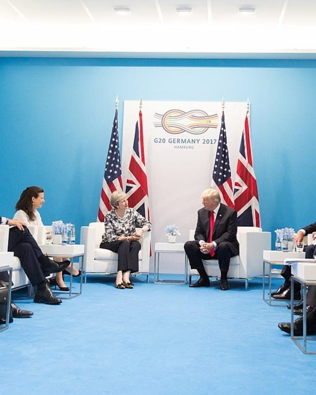 UK Prime Minister Criticizes Trump Over London Attack Promo Image