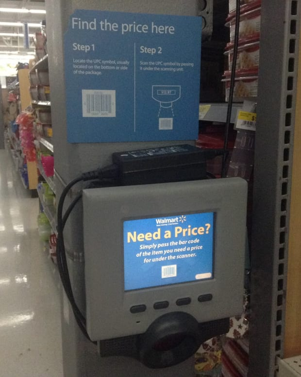 Woman Swaps Bar Codes At Walmart, Pays $3 For Computer Promo Image