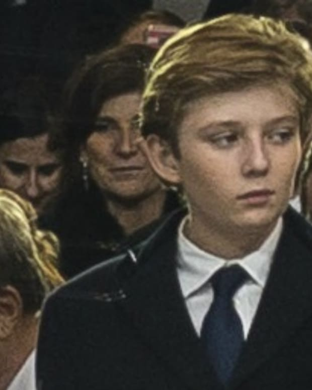 Barron Trump Hospital Article Declared Fake News (Photos) Promo Image