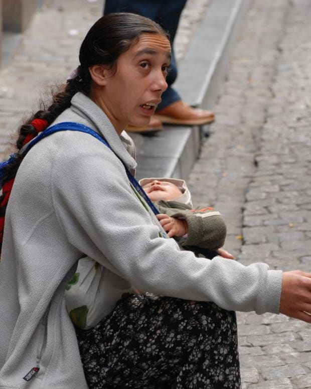 Homeless Woman Found Holding A Dead Baby Promo Image