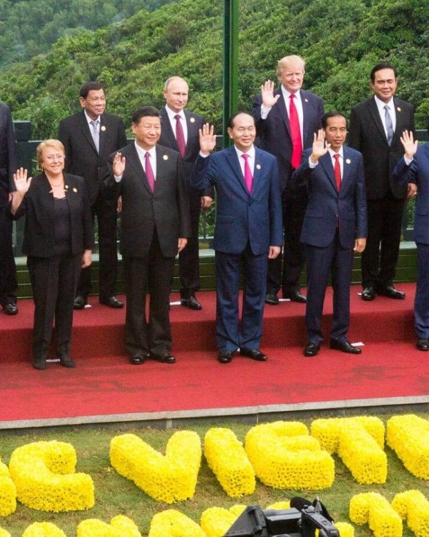 At APEC Summit, Trump Vows To Put America First Promo Image