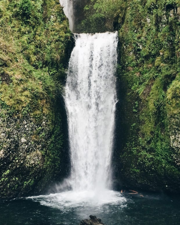Selfie At Waterfall Reveals Something Terrifying (Photo) Promo Image