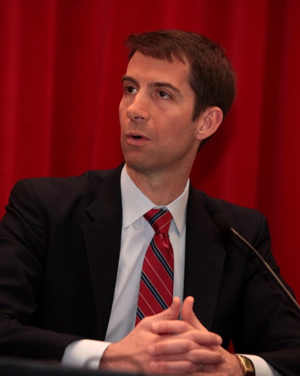 Interrogators: Don't Appoint Tom Cotton To Head CIA Promo Image