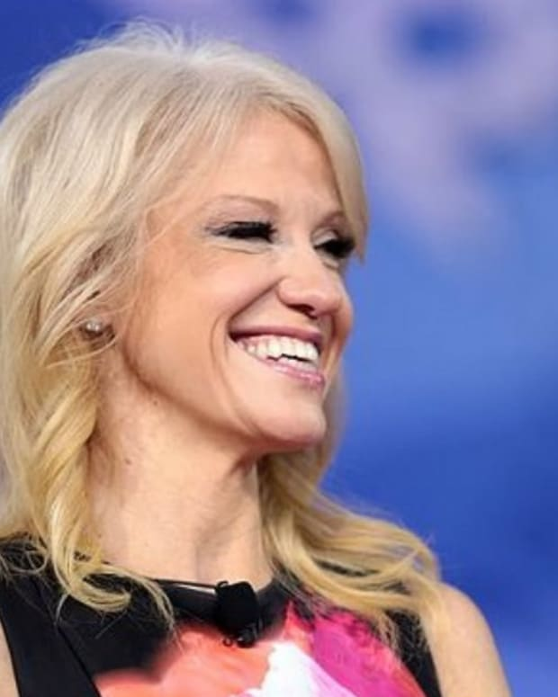 Kellyanne Conway Caught Mocking Trump Staffers At Party (Photos) Promo Image