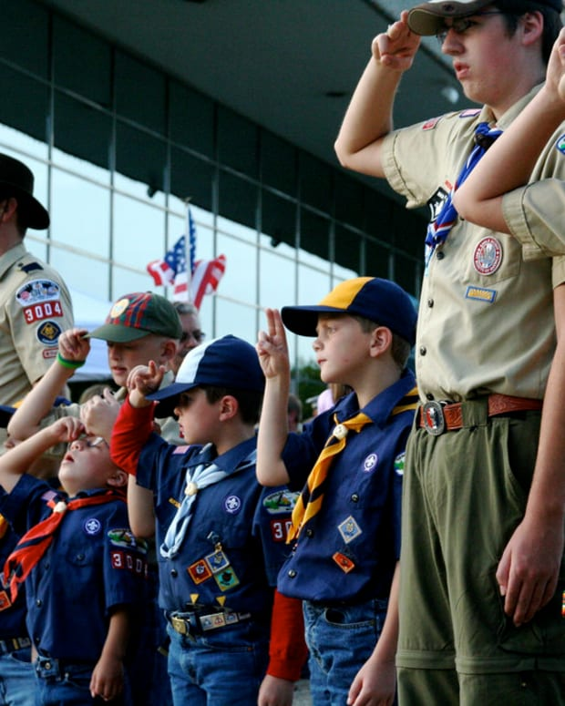 Boy Scouts Apologize For Trump Speech At Jamboree Promo Image