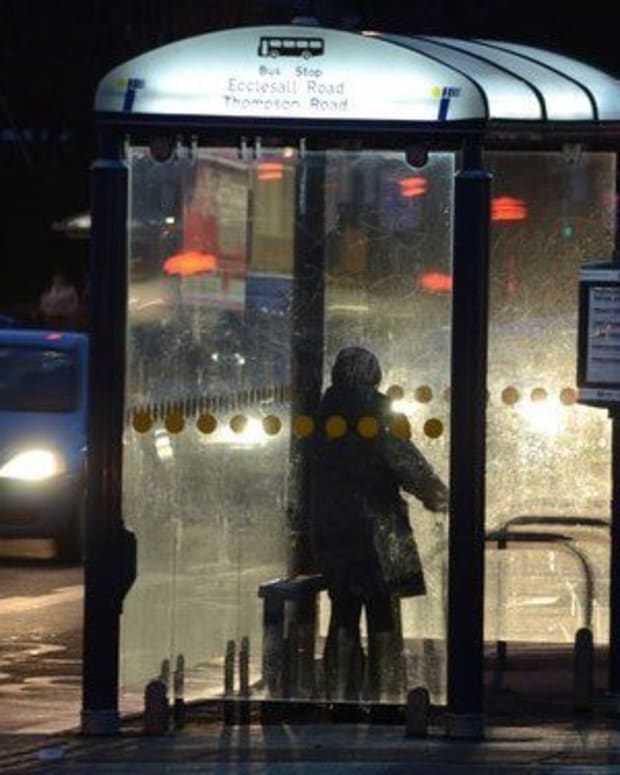 Hospital Dumps Patient Outside At A Freezing Bus Stop (Video) Promo Image