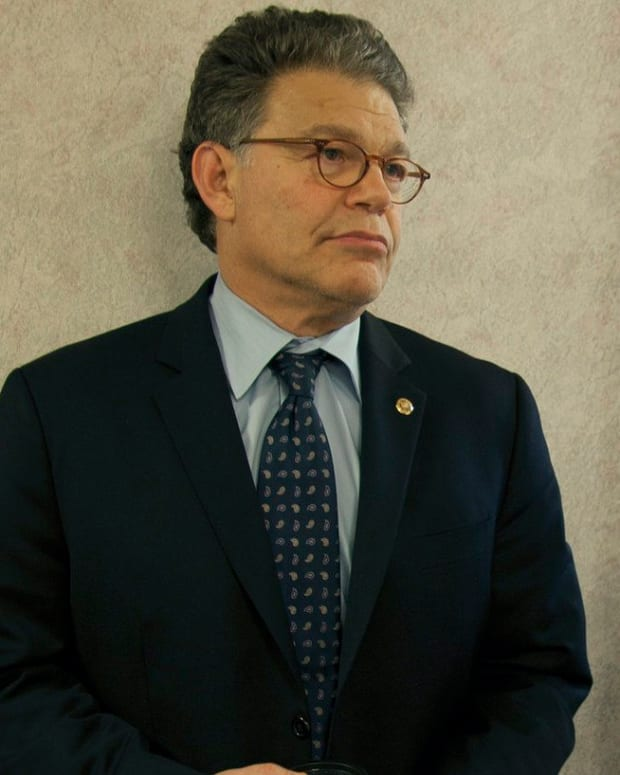 Sen. Al Franken Accused Of Second Groping Incident Promo Image