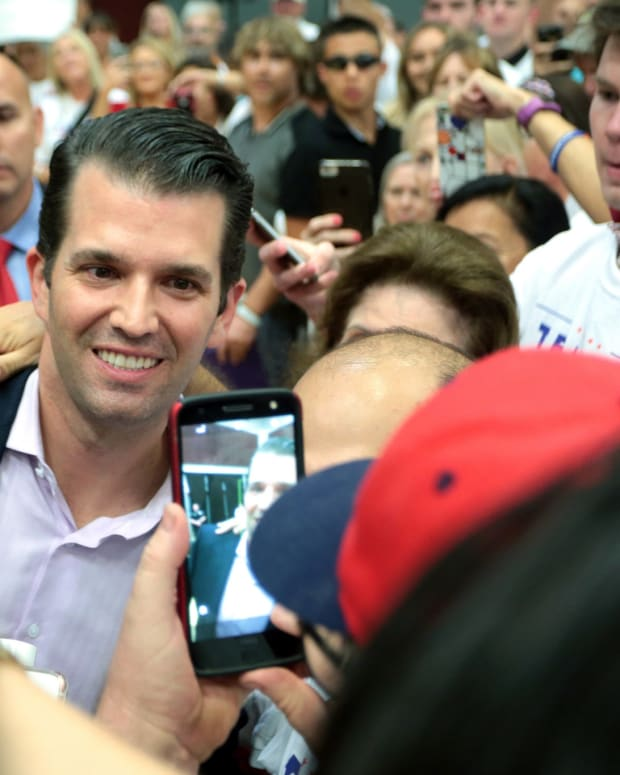 Email: Trump Jr. Was Promised Russian Dirt On Clinton Promo Image