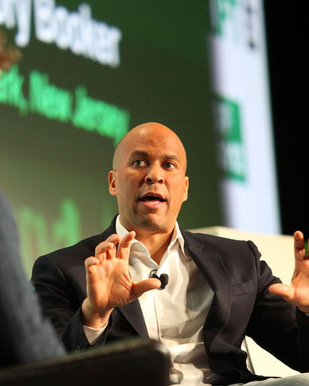 Cory Booker: Mum On 2020 Run Promo Image
