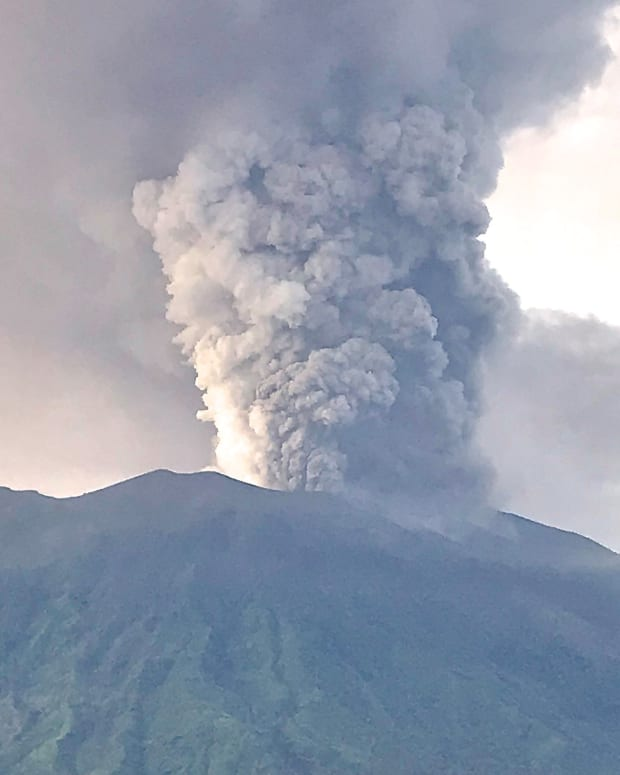 Bali Volcano Eruption Might Lower Global Temperatures Promo Image