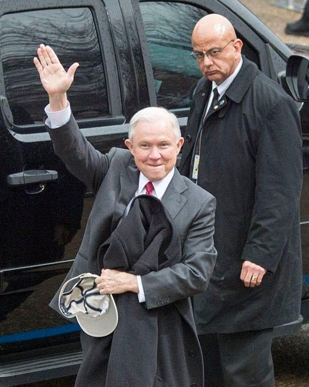 Top FBI Lawyer Allegedly Under Investigation For Leaks Promo Image