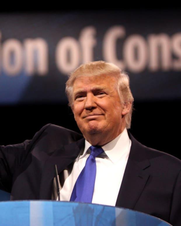 Trump's Behavior Leaving Air Force One Sparks Concern (Video) Promo Image