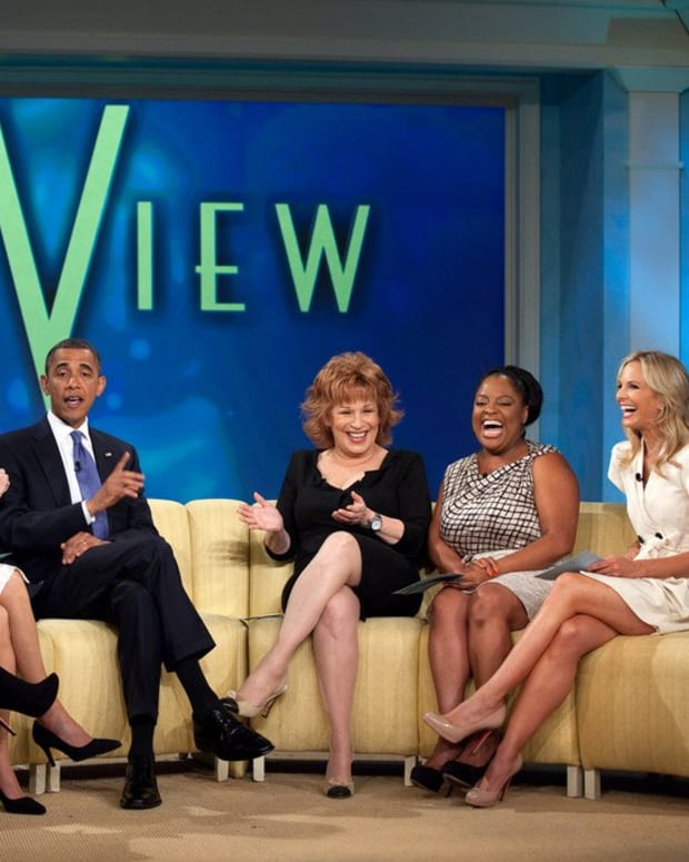 'The View' Hosts Think Trump Should Leave Obama Alone Promo Image