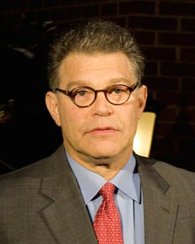 Al Franken Urged To Reconsider Leaving U.S. Senate Promo Image
