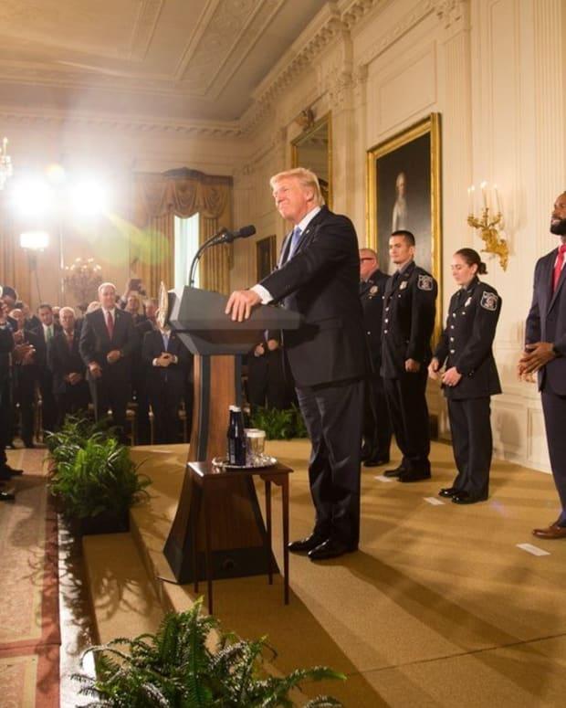 Trump To Donate $1 Million To Harvey Relief Promo Image