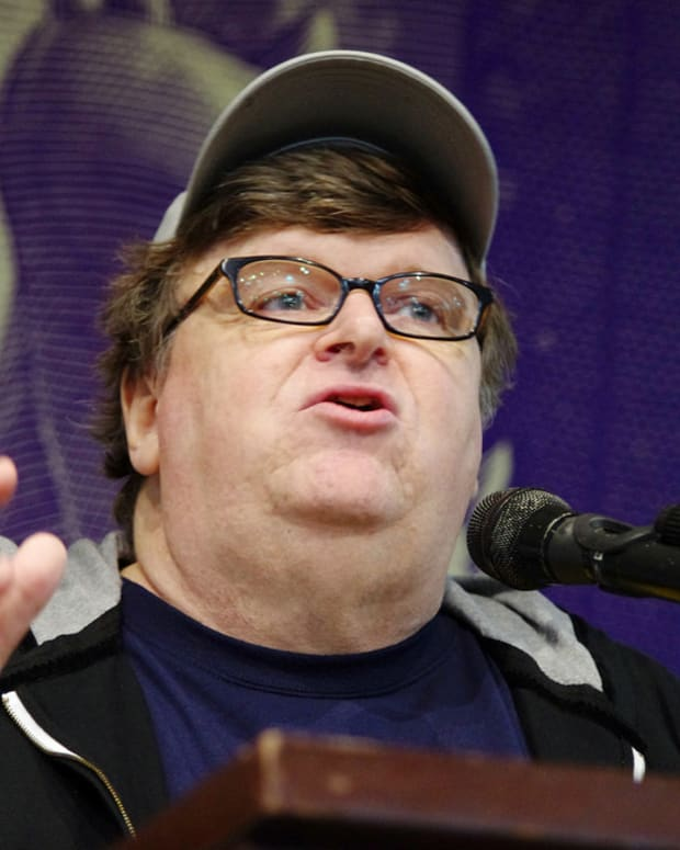 Michael Moore Predicts Timing Of Trump's Impeachment  Promo Image