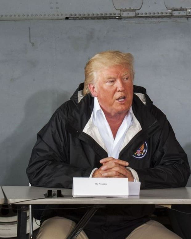 Trump Says He May End Relief Efforts In Puerto Rico Promo Image