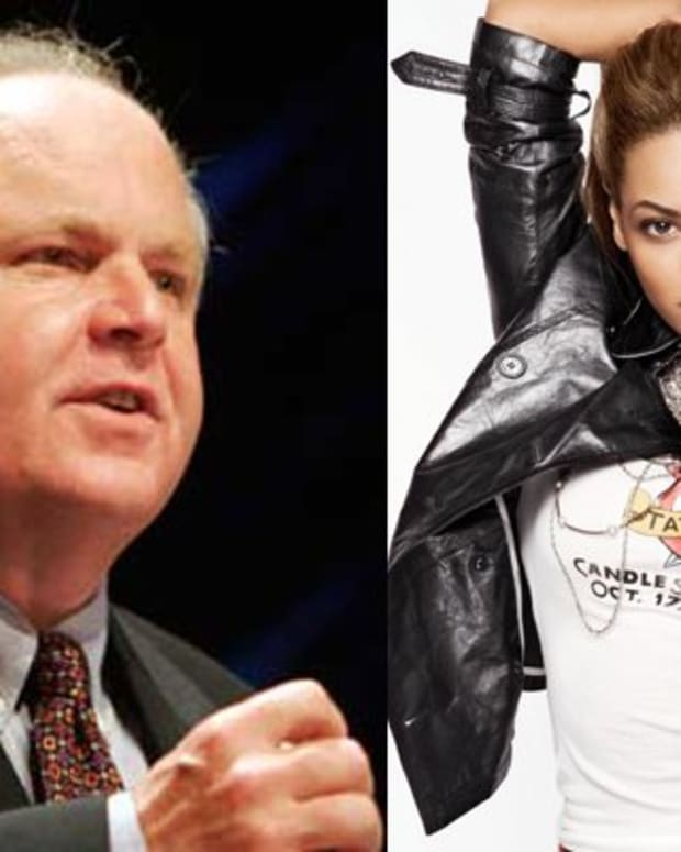 Rush Limbaugh's interpretation of Beyonce single sexist?