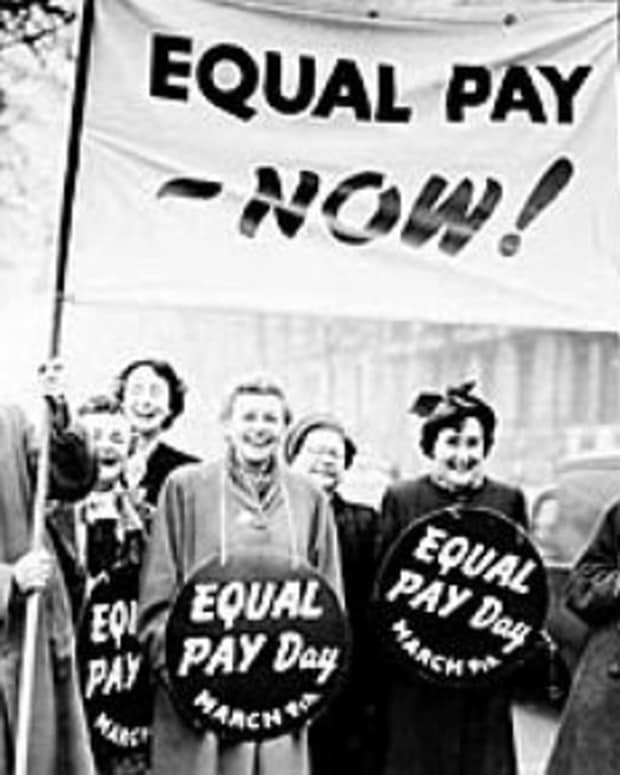 Equal Pay - Now!