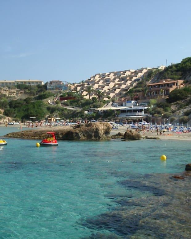 Cala Tarida, Ibiza.