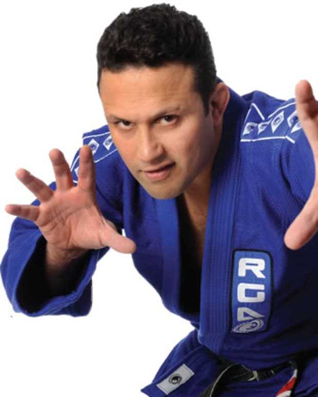 MMA fighter Renzo Gracie.