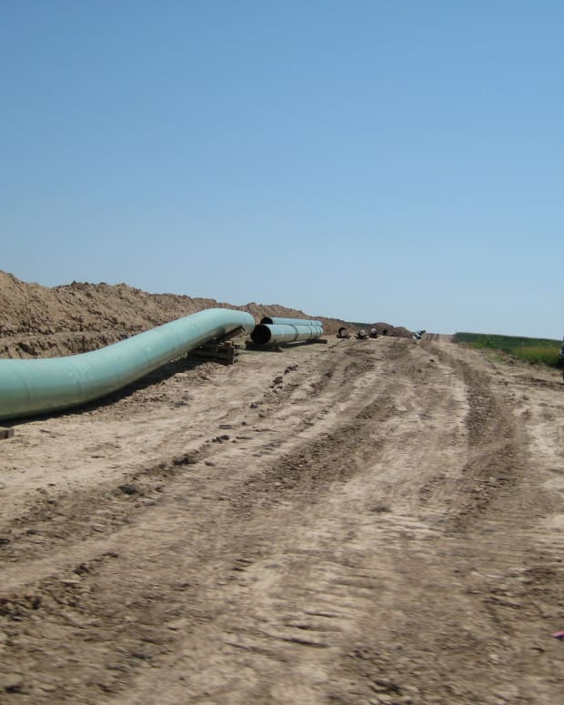 Keystone XL Pipeline.
