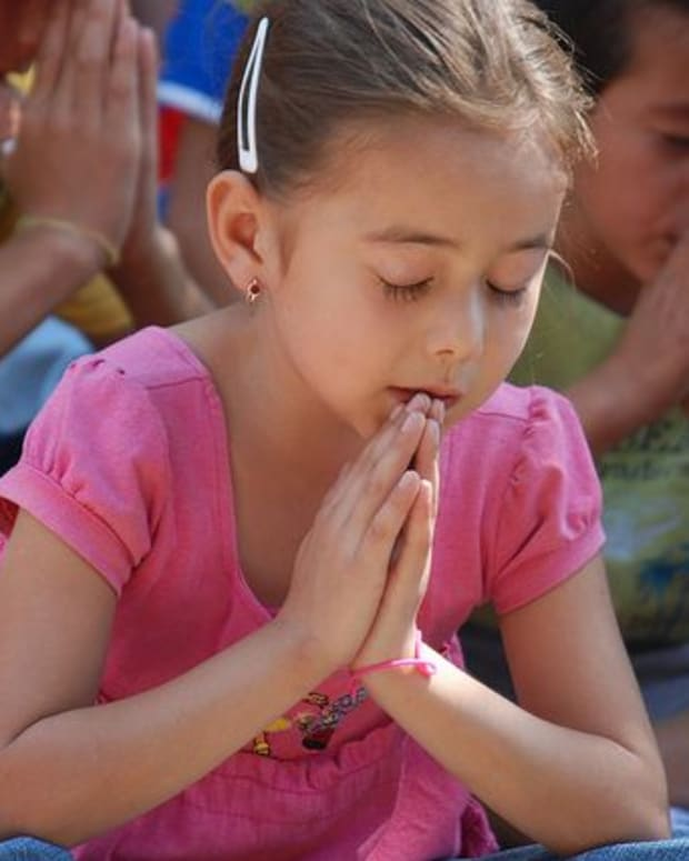 Children Praying.