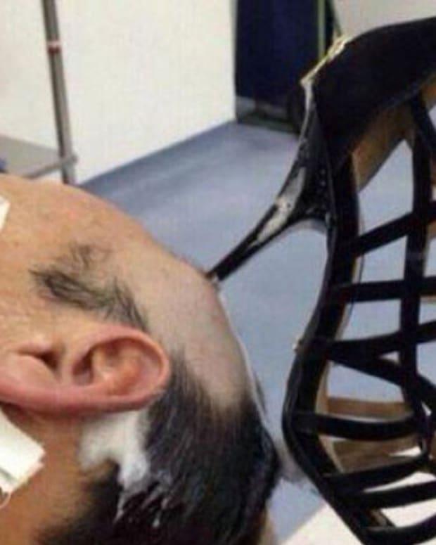 Stiletto in Head.