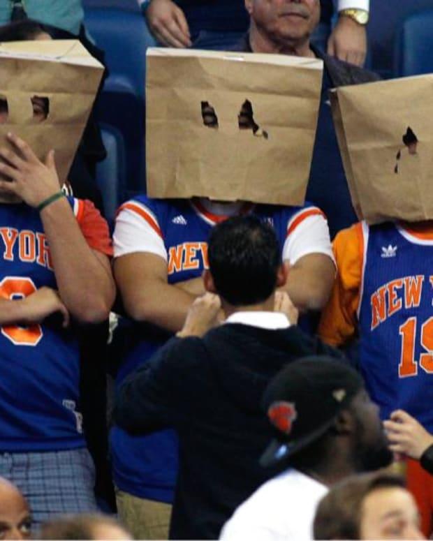 New York Knicks Fans.
