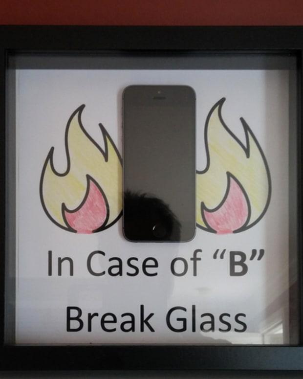 Phone in Case.
